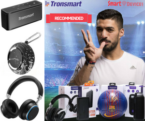 Luis Suarez recommends Collection Tronsmart